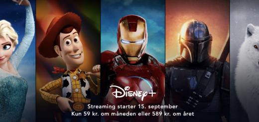 Disney Plus lancering Danmark